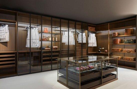Entdecken Sie bei Conzept Beckord besondere Designmöbel! Hier finden Sie ein vorschau Bild vom Porro Schranksystem dressing room