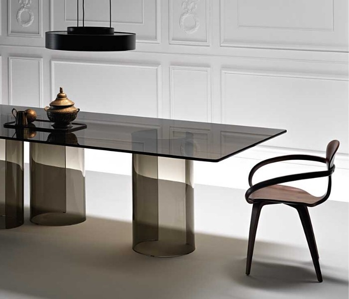 Entdecken Sie bei Conzept Beckord besondere Designmöbel! Hier finden Sie Fiam Italia Tische: Luxor