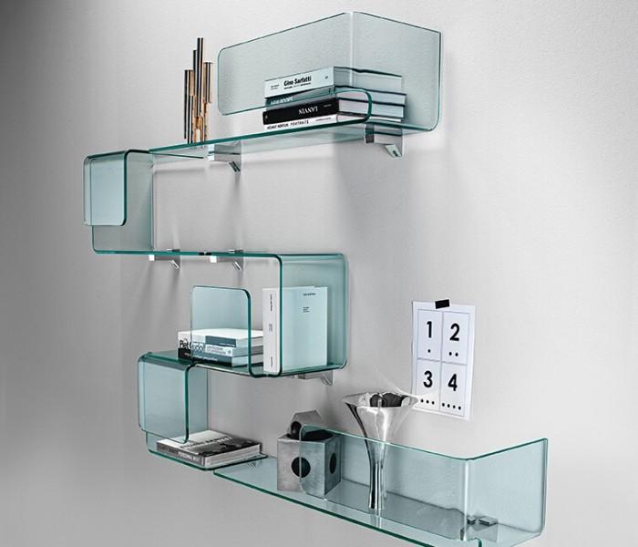 Entdecken Sie bei Conzept Beckord besondere Designmöbel! Hier finden Sie Fiam Italia Regale: Foulard