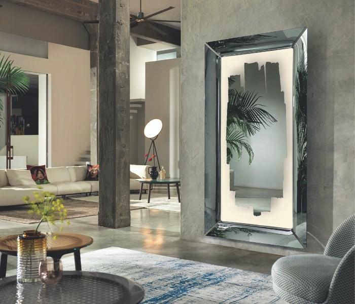 Entdecken Sie bei Conzept Beckord besondere Designmöbel! Hier finden Sie Fiam Italia Spiegel: Caadre with Light