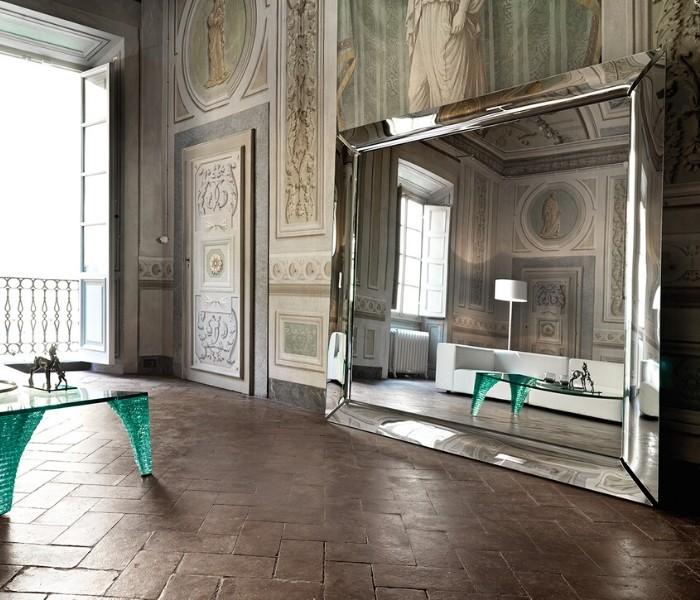 Entdecken Sie bei Conzept Beckord besondere Designmöbel! Hier finden Sie Fiam Italia Spiegel: Caadre