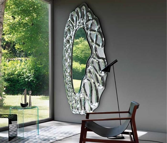 Entdecken Sie bei Conzept Beckord besondere Designmöbel! Hier finden Sie Fiam Italia Spiegel: Caldeira