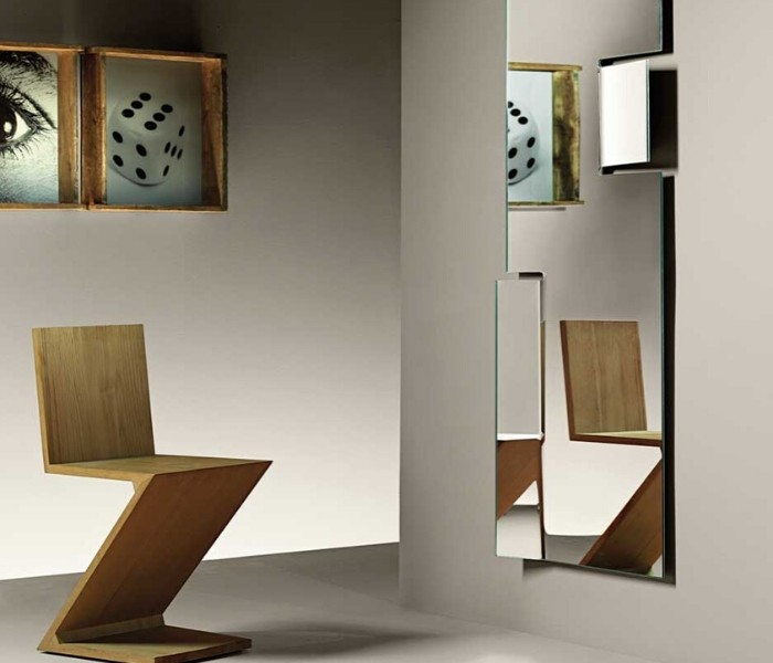 Entdecken Sie bei Conzept Beckord besondere Designmöbel! Hier finden Sie Fiam Italia Spiegel: Hiroshi