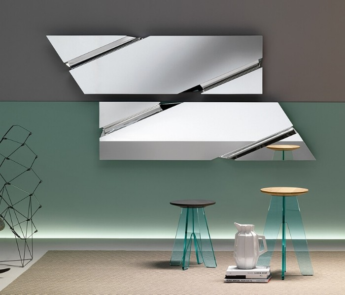 Entdecken Sie bei Conzept Beckord besondere Designmöbel! Hier finden Sie Fiam Italia Spiegel: The Wing