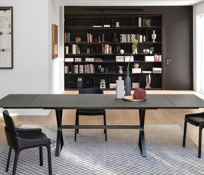 Entdecken Sie bei Conzept Beckord besondere Designmöbel! Hier finden Sie Fiam Italia Tische: Hype extendible