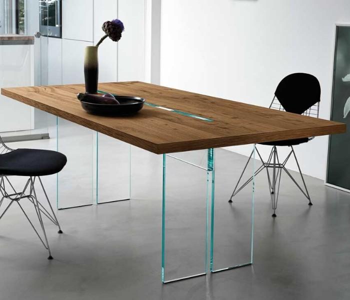 Entdecken Sie bei Conzept Beckord besondere Designmöbel! Hier finden Sie Fiam Italia Tische: Ilt wood