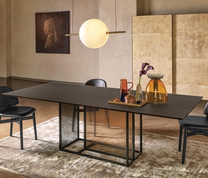 Entdecken Sie bei Conzept Beckord besondere Designmöbel! Hier finden Sie Fiam Italia Tische: Theo