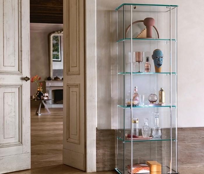 Entdecken Sie bei Conzept Beckord besondere Designmöbel! Hier finden Sie Fiam Italia Vitrinen: Milo day