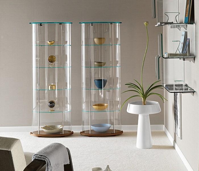 Entdecken Sie bei Conzept Beckord besondere Designmöbel! Hier finden Sie Fiam Italia Vitrinen: Palladio