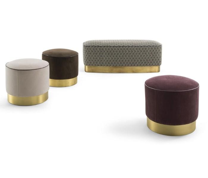 Entdecken Sie bei Conzept Beckord besondere Designmöbel! Hier finden Sie Frigerio Hocker: Joey stool