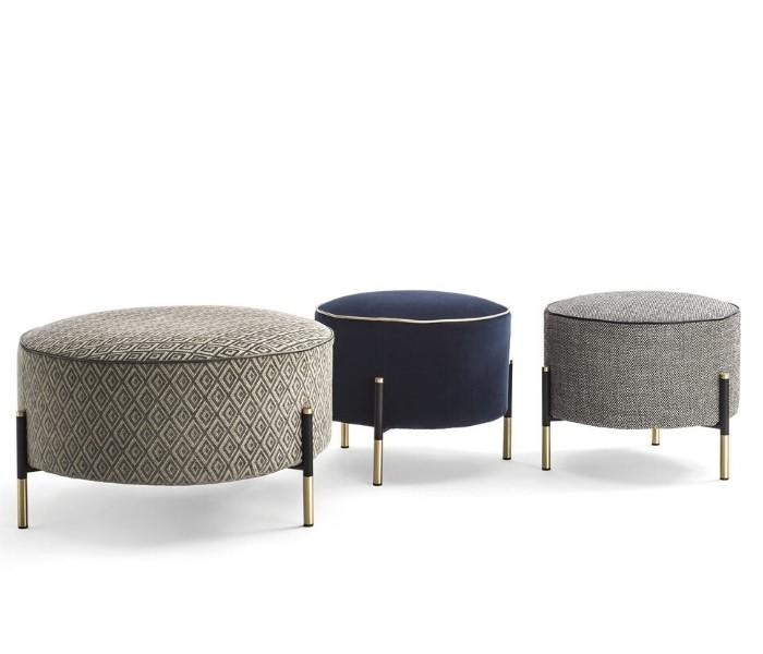 Entdecken Sie bei Conzept Beckord besondere Designmöbel! Hier finden Sie Frigerio Hocker: Kevin