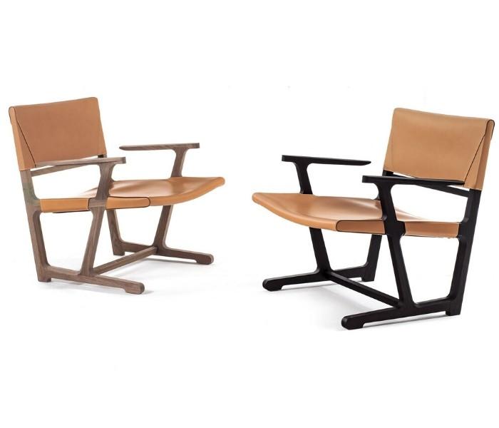 Entdecken Sie bei Conzept Beckord besondere Designmöbel! Hier finden Sie Frigerio Sessel: ainda