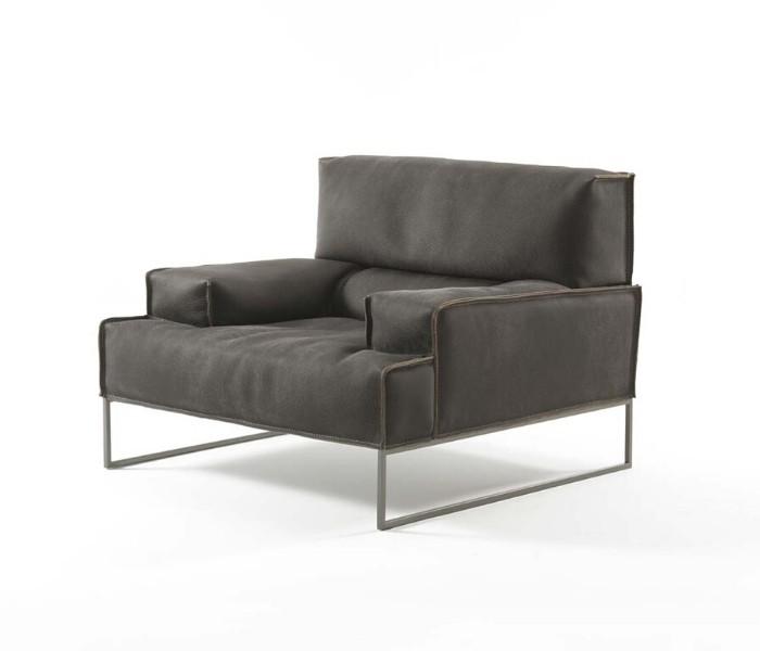 Entdecken Sie bei Conzept Beckord besondere Designmöbel! Hier finden Sie Frigerio Sessel: Cloud