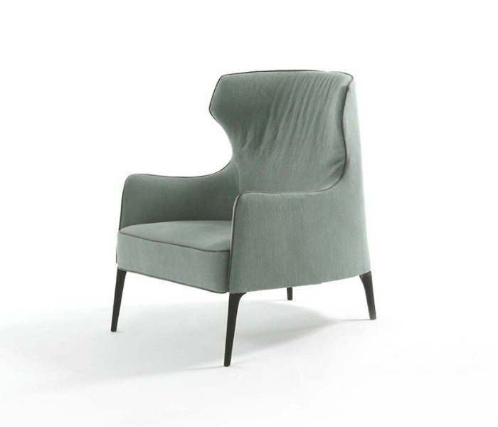 Entdecken Sie bei Conzept Beckord besondere Designmöbel! Hier finden Sie Frigerio Sessel: Crosby bergre