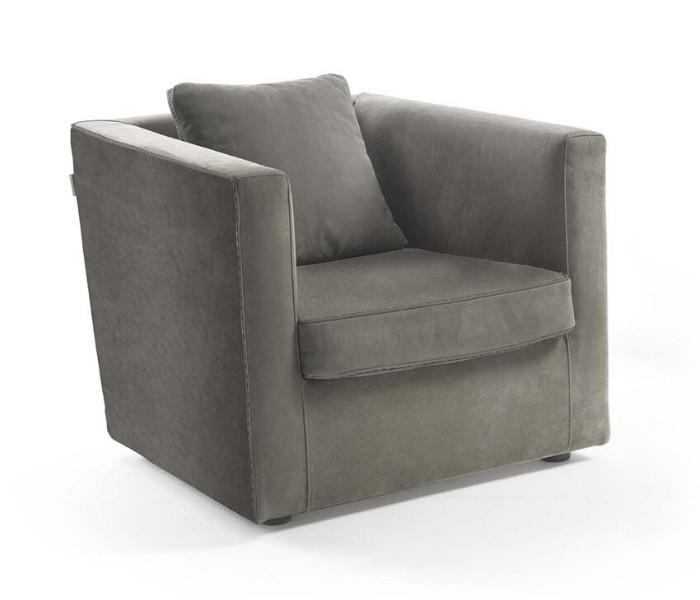 Entdecken Sie bei Conzept Beckord besondere Designmöbel! Hier finden Sie Frigerio Sessel: Ella