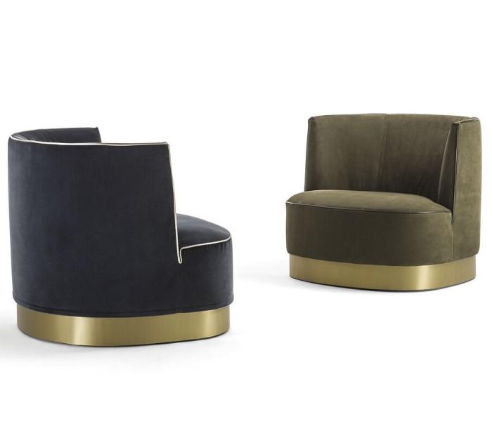Entdecken Sie bei Conzept Beckord besondere Designmöbel! Hier finden Sie Frigerio Sessel: Joey