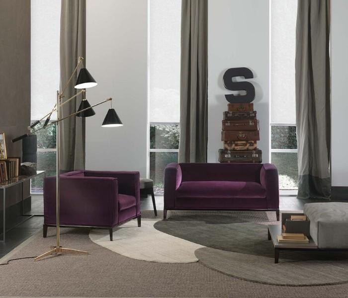 Entdecken Sie bei Conzept Beckord besondere Designmöbel! Hier finden Sie Frigerio Sofas: Taylor junior