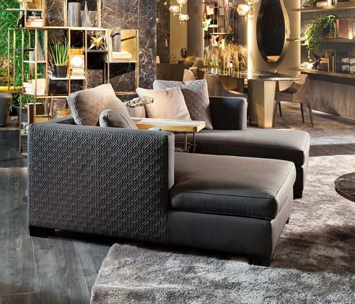 Entdecken Sie bei Conzept Beckord besondere Designmöbel! Hier finden Sie Frigerio Sofas: Tiberio q