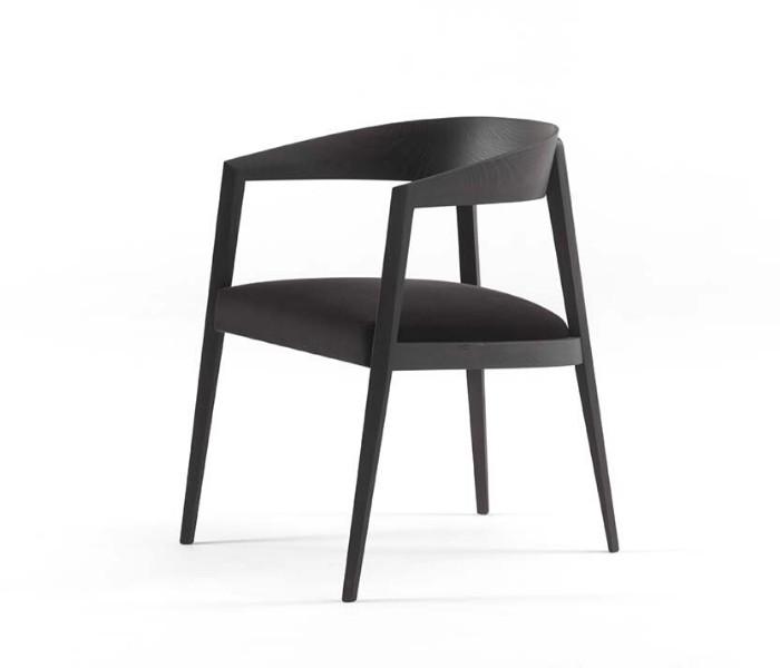 Entdecken Sie bei Conzept Beckord besondere Designmöbel! Hier finden Sie Frigerio Stühle: Lizzye schwarz
