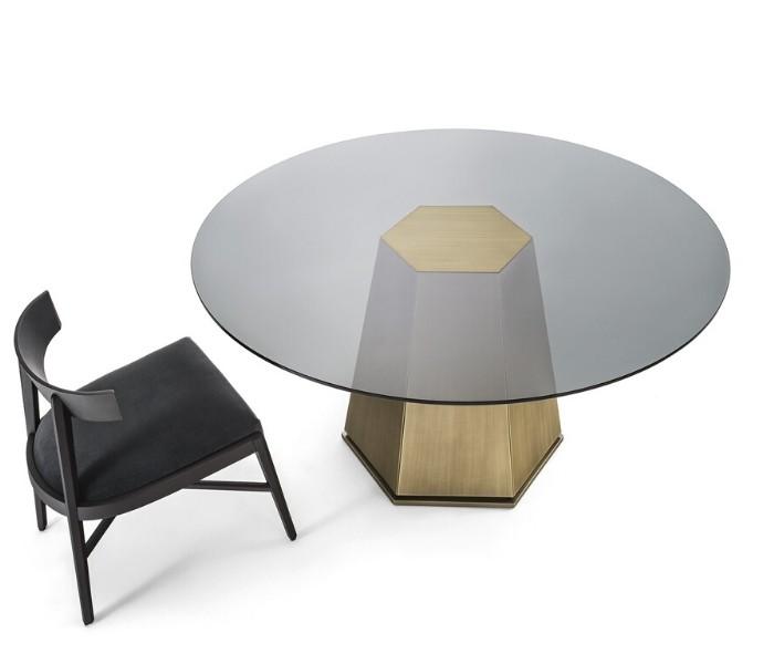 Entdecken Sie bei Conzept Beckord besondere Designmöbel! Hier finden Sie Frigerio Tische: Kent