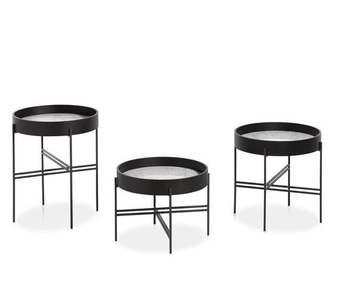 Entdecken Sie bei Conzept Beckord besondere Designmöbel! Hier finden Sie Potocco Beistelltische: tray rund