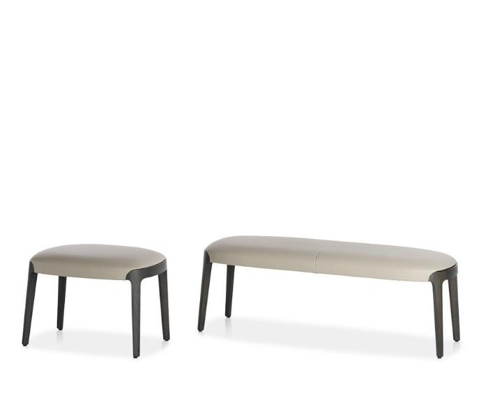 Entdecken Sie bei Conzept Beckord besondere Designmöbel! Hier finden Sie Potocco Hocker und Bänke: Velis weiß