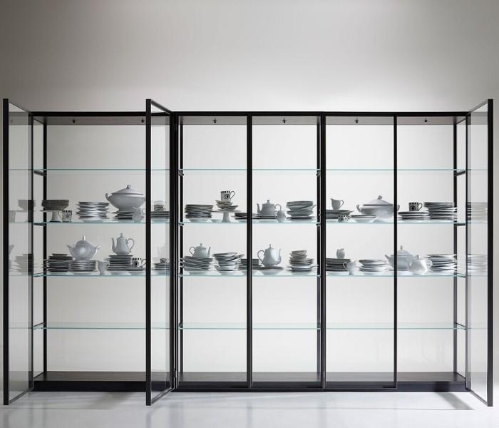 Entdecken Sie bei Conzept Beckord besondere Designmöbel! Hier finden Sie Potocco Regalsysteme: Libris
