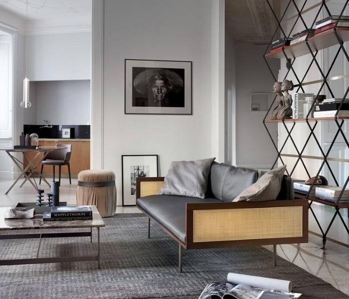 Entdecken Sie bei Conzept Beckord besondere Designmöbel! Hier finden Sie Potocco Sofas und Sessel: Loom mit dünnen beinen