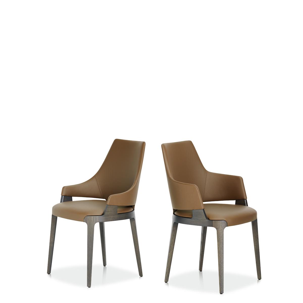 Entdecken Sie bei Conzept Beckord besondere Designmöbel! Hier finden Sie Potocco Stühle: Velis dunkel