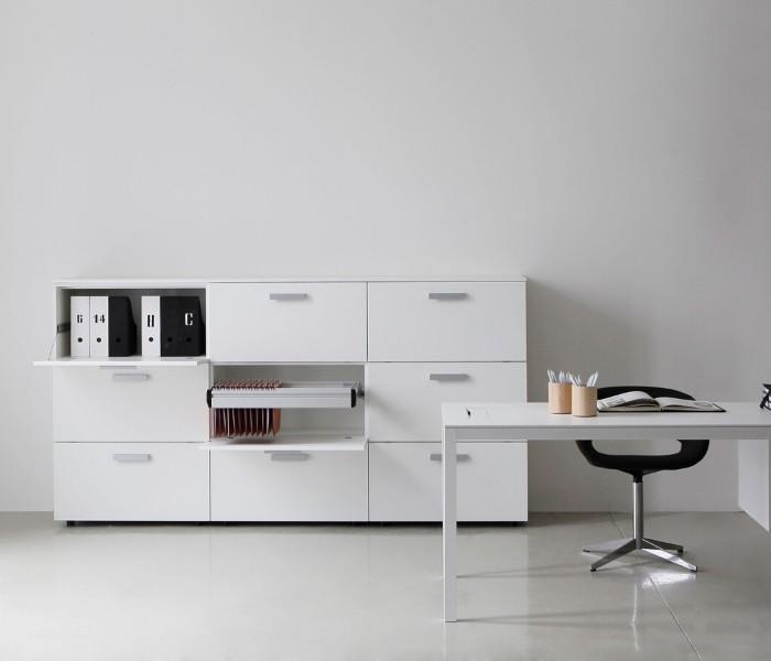 Entdecken Sie bei Conzept Beckord besondere Designmöbel! Hier finden Sie Potocco Wohnraumsysteme: Working