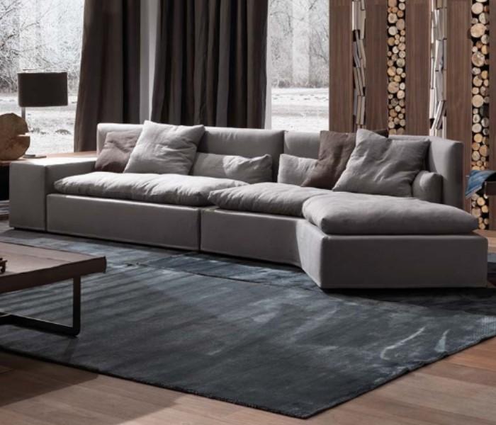 Entdecken Sie bei Conzept Beckord besondere Designmöbel! Hier finden Sie Frigerio Sofas: Dominio