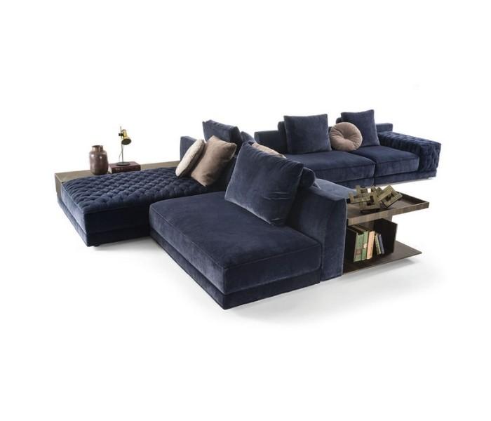 Entdecken Sie bei Conzept Beckord besondere Designmöbel! Hier finden Sie Frigerio Sofas: Miller double
