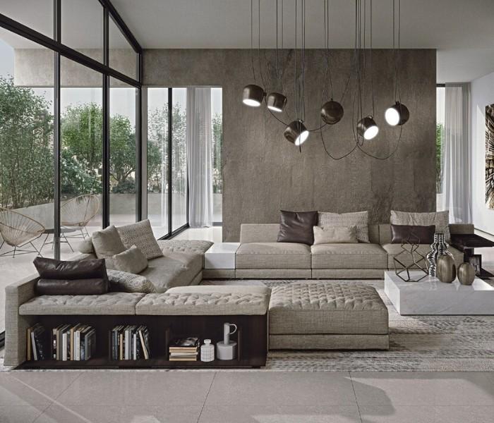 Entdecken Sie bei Conzept Beckord besondere Designmöbel! Hier finden Sie Frigerio Sofas: Miller