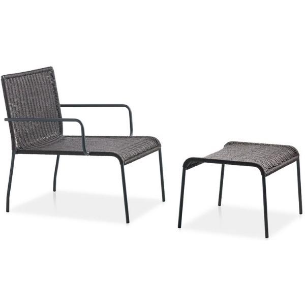 Entdecken Sie bei Conzept Beckord besondere Designmöbel! Hier finden Sie Potocco Outdoor Möbel: Agra mit Hocker