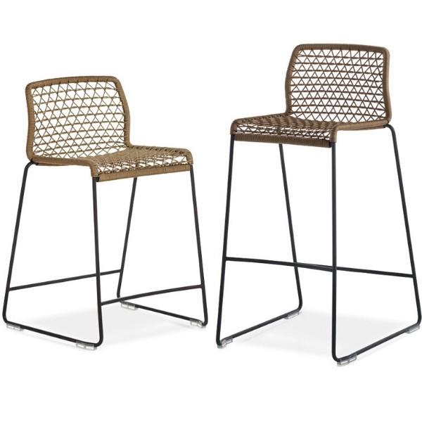 Entdecken Sie bei Conzept Beckord besondere Designmöbel! Hier finden Sie Potocco Outdoor Möbel: Vela barstuhl