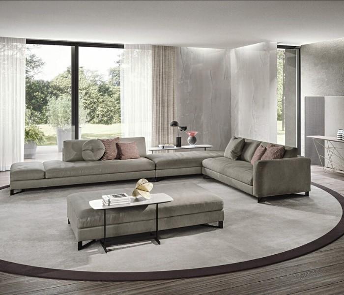 Entdecken Sie bei Conzept Beckord besondere Designmöbel! Hier finden Sie Frigerio Sofas: Davis flat