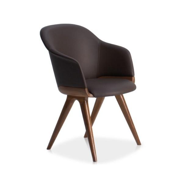 Entdecken Sie bei Conzept Beckord besondere Designmöbel! Hier finden Sie Potocco Stühle: Lyz dunkel