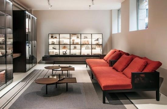 Entdecken Sie bei Conzept Beckord besondere Designmöbel! Hier finden Sie Porro Sofas Curry