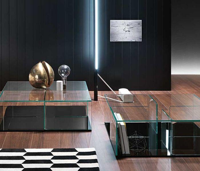 Couchtische - Entdecken Sie bei Designmöbel Beckord besondere Designmöbel! Hier finden Sie Fiam Italia Couchtische: Quadra