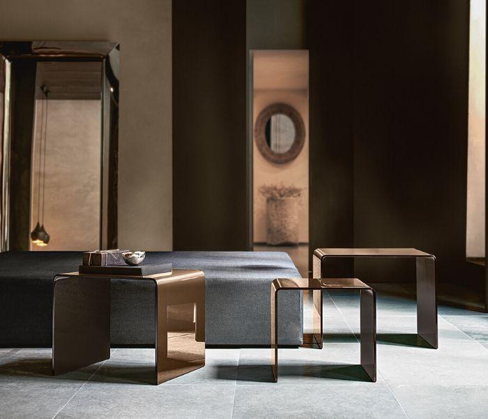 Couchtische - Entdecken Sie bei Designmöbel Beckord besondere Designmöbel! Hier finden Sie Fiam Italia Couchtische: Rialto Tris